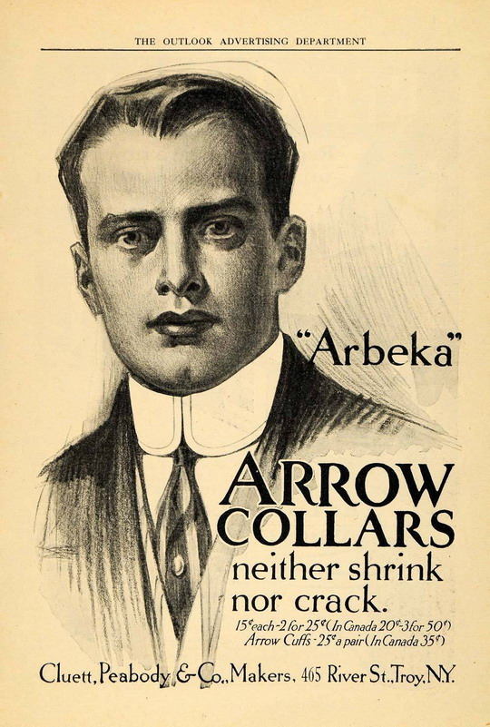 Arrow Collars, circa 1905