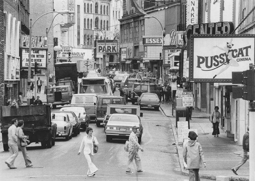 """The Combat Zone"" (red light district), Boston,1970s"