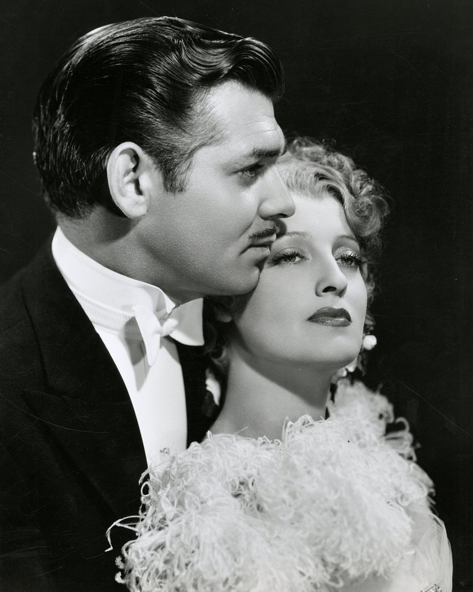 """Clark Gable and Jeanette MacDonald in promo shot for """"San Francisco"""", photo by Clarence Sinclair Bull,1936"""