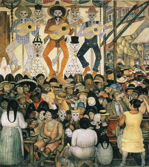 "Diego Rivera's ""Day of the Dead"", 1924"