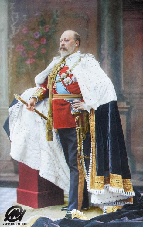 King Edward VII coronation portrait,1902