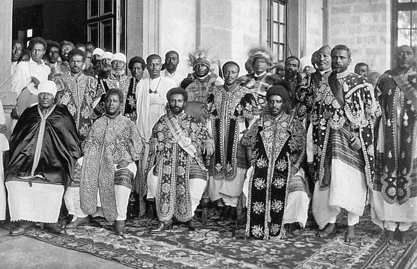 Ethiopian royal family (1930s?), who has a bloodline dating back to the Queen of Sheba