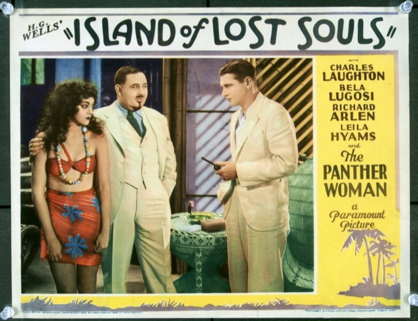 """Island of Lost Souls"" – including the Panther Woman!"