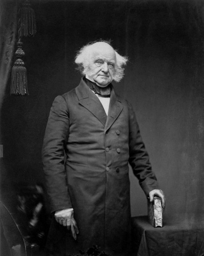 President Martin Van Buren,1830s