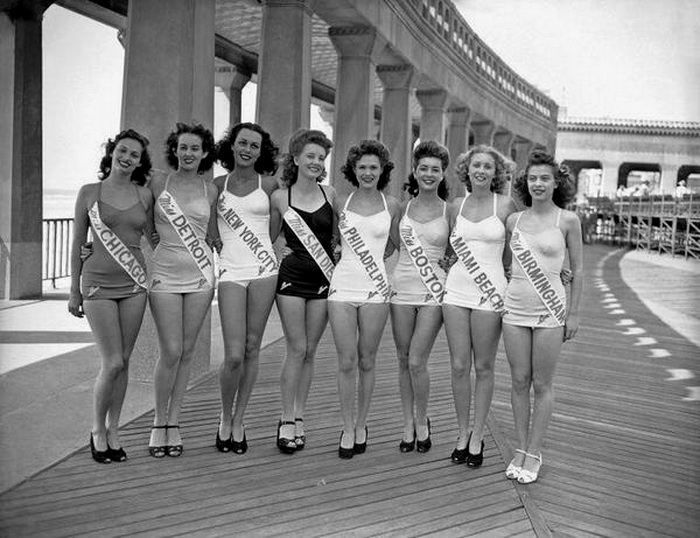 Miss America pageant,1945