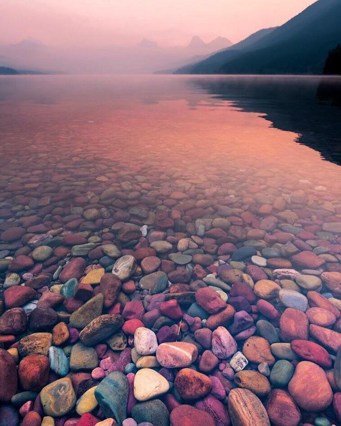 Mountain lake, Montana, by StephenShelesky