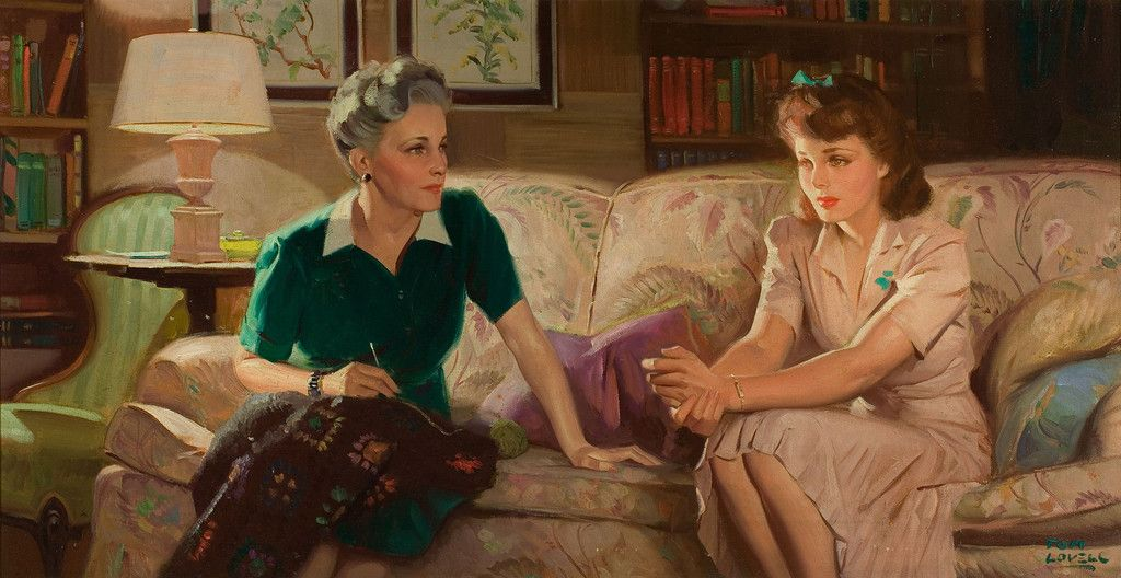 Mother-daughter talk