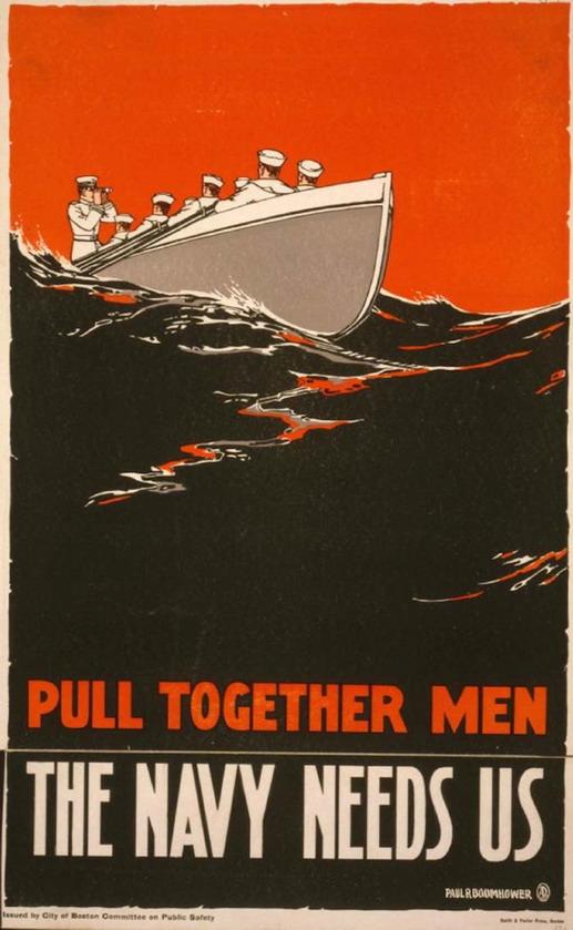 Pull Together Men!