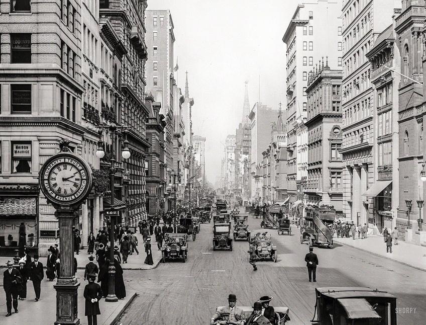 Fifth Avenue, NYC, circa1910