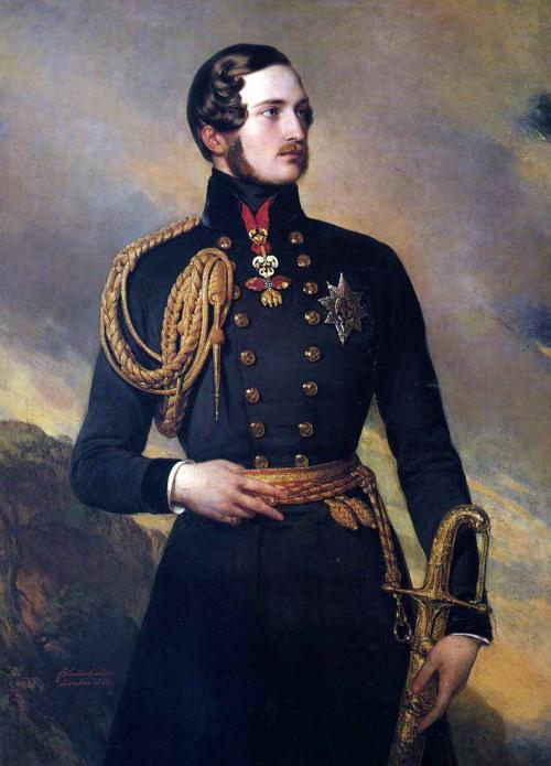 Young Prince Albert, by Franz Xaver Winterhalter,1842