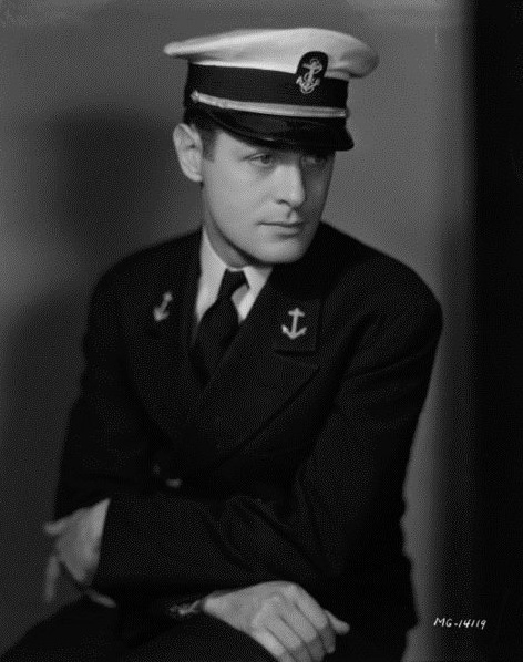 US Sailor, WWII (I think he was an actor – maybe this is Gene Kelly?)