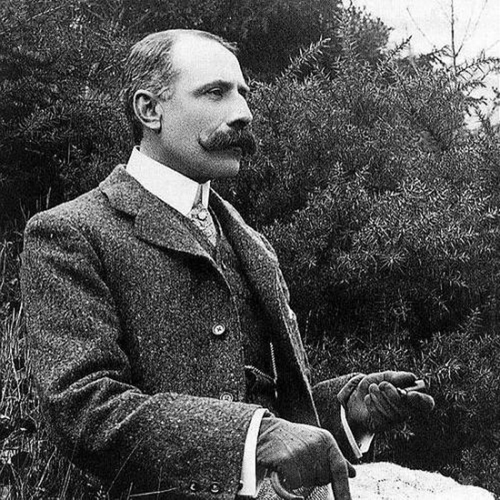 Sir Edward William Elgar, British composer and gentleman