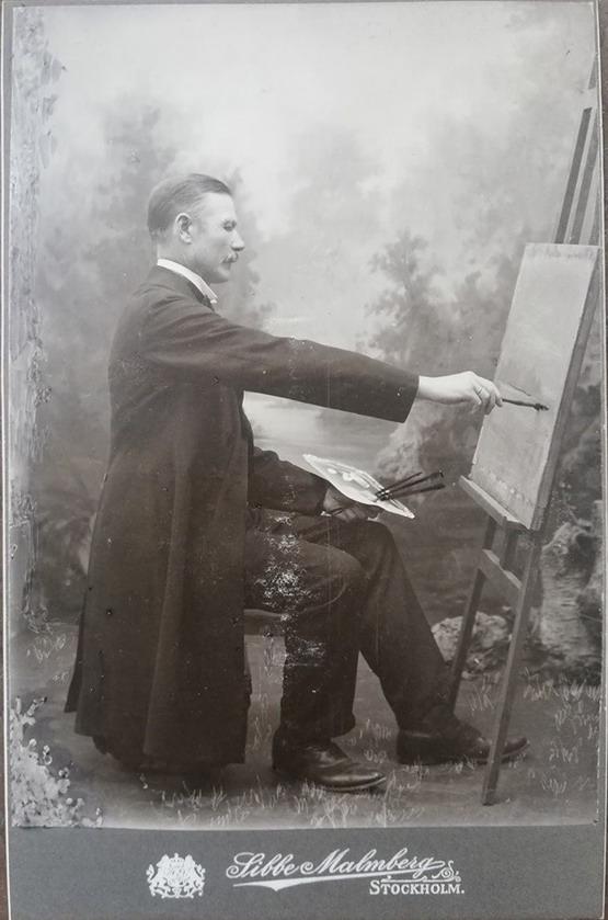 Swedish painter, 1800s
