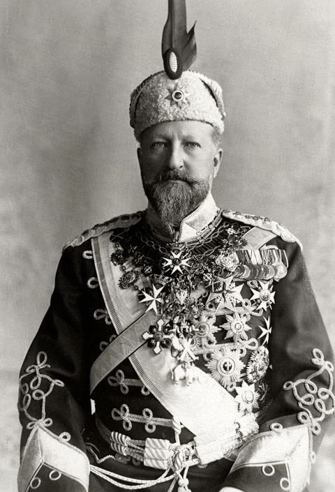Tsar Ferdinand I of Bulgaria (Full name: Ferdinand Maximilian Karl Leopold Maria of Saxe-Coburg), circa1910