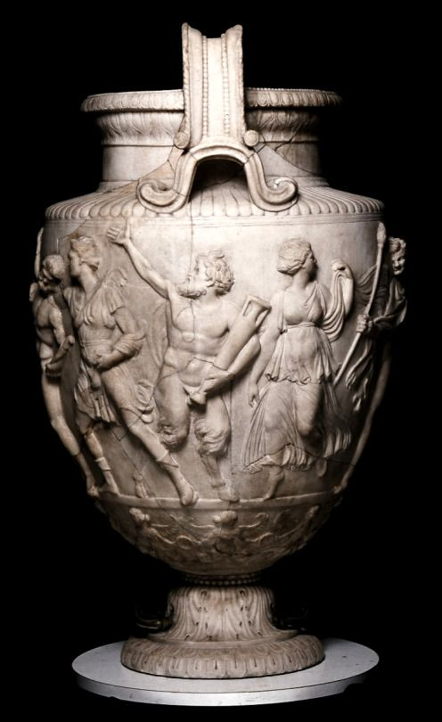 The Townley Vase, Roman marble urn