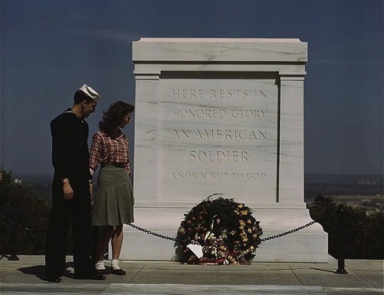US TOMB OF THE UNKNOWN SOLDIER
