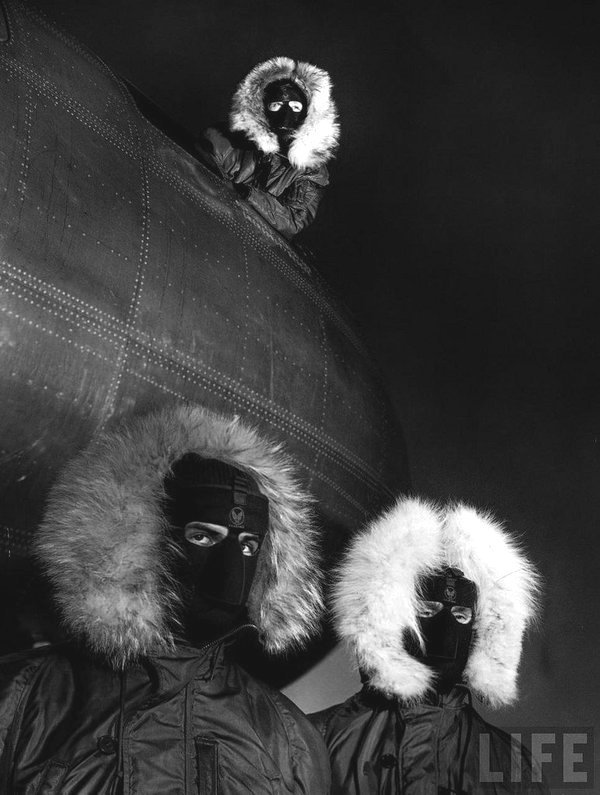 Allied troops in Greenland during WWII