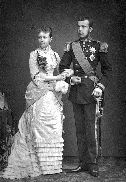 Archduke Rudolf & his wife, Austro-Hungarian Empire, 1800s