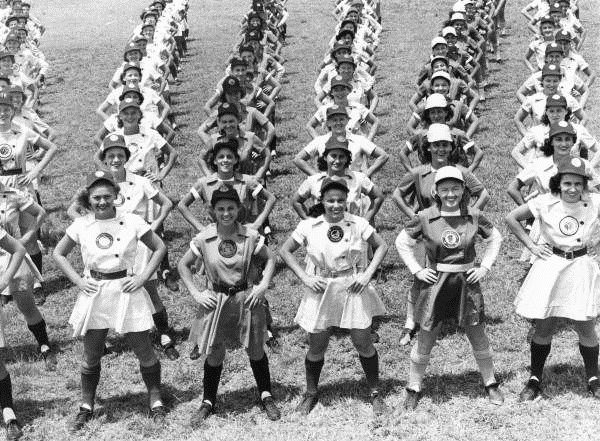 Professional women's baseball teams, 1940s