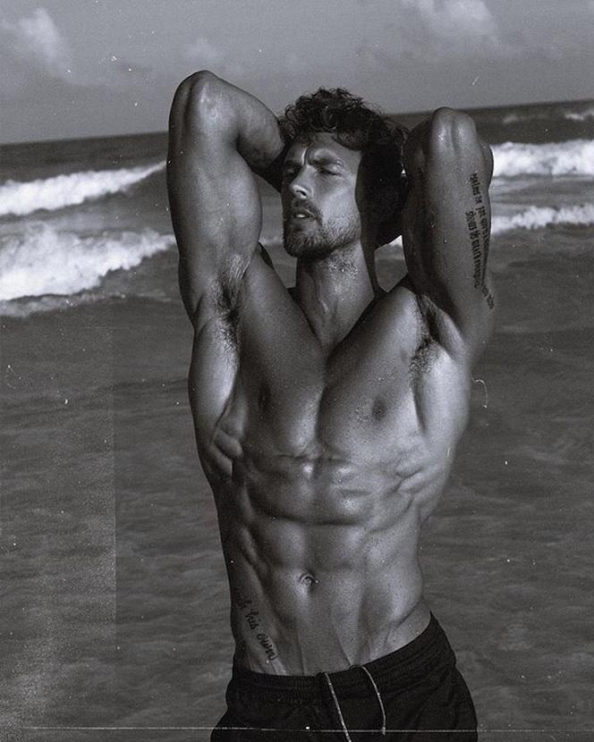 Model Christian Hogue