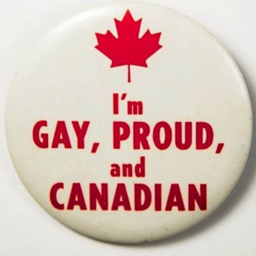 Close! I'm gay, proud, and French Canadian-American