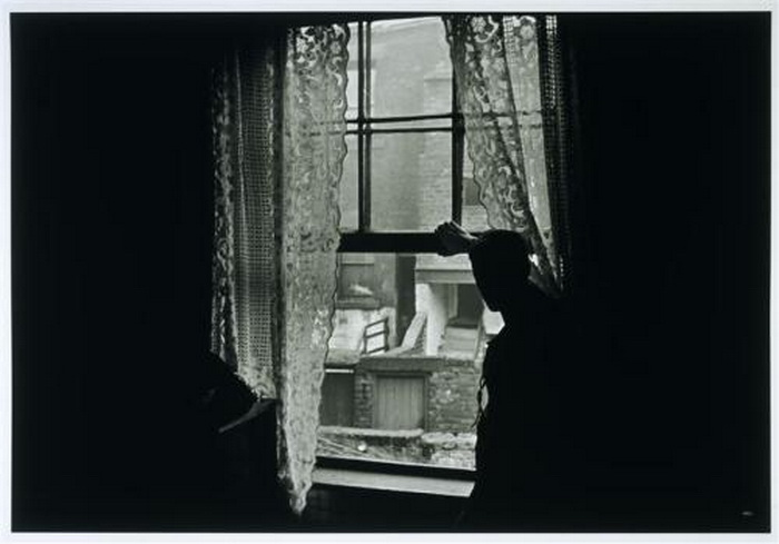"Gisele Freund, ""Man at the window in Newcastle-on-Tyne"", UK, 1935"