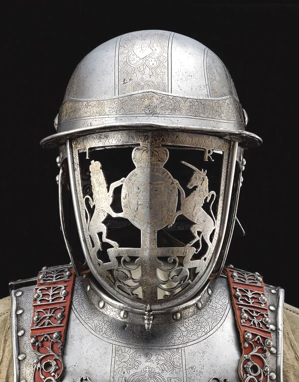 Helmet of King James II, England, 1600s