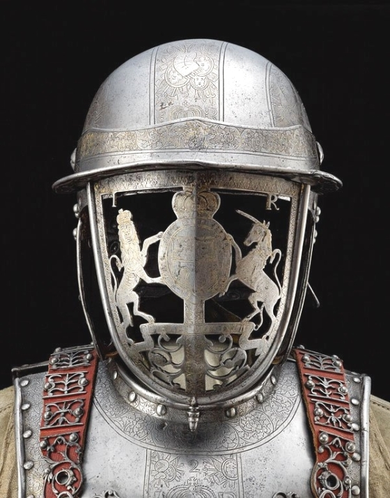 Helmet of King James II [17th century]