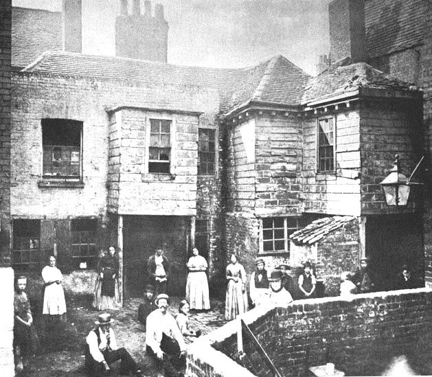 London tenements, 1800s
