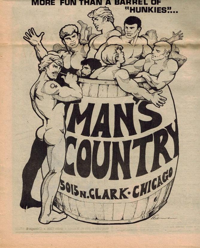 Man's Country, Chicago, circa1980