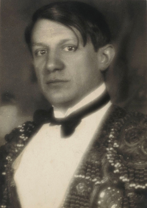 Pablo Picasso, Paris, early 1920's. Photographed by Man Ray.