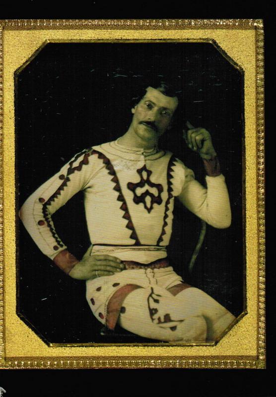 Vintage acrobat stache