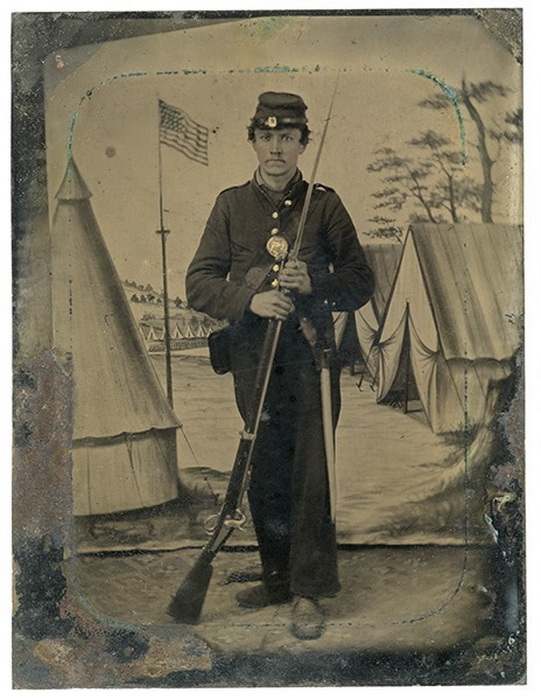 American (Union) soldier, US Civil War,1860s