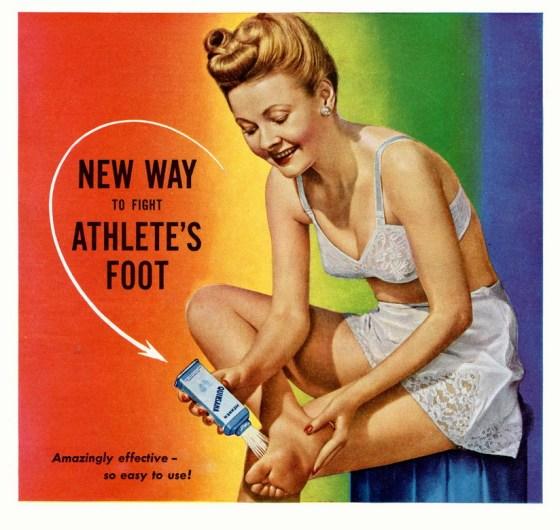 atlete's foot