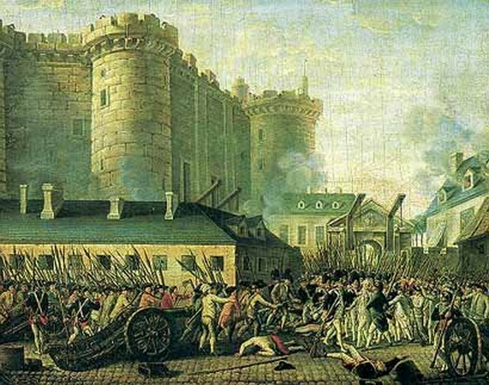 Storming of the Bastille, Paris