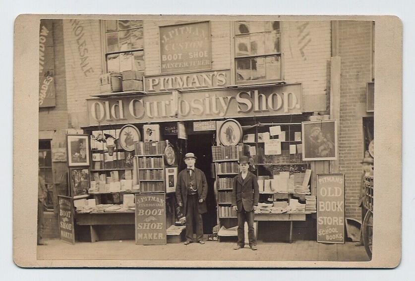 Pitman's Old Curiosity Shop, Boston,1880s