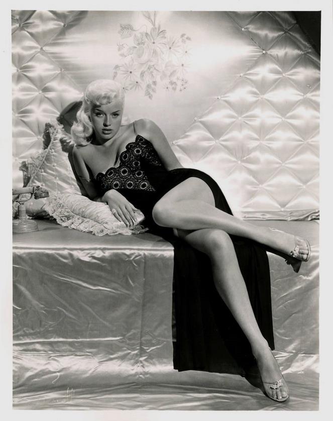 Diana Dors, 1950s