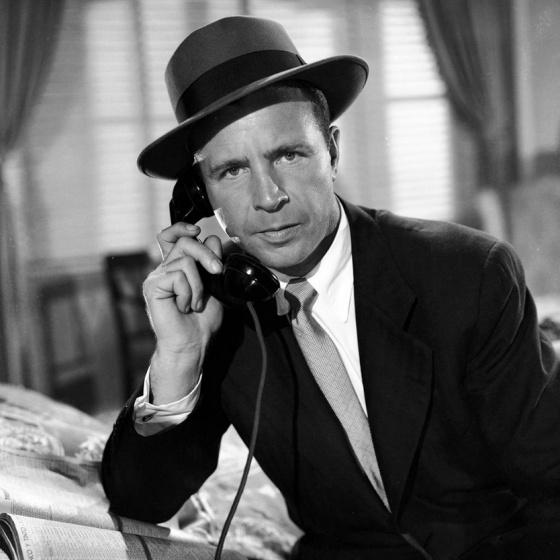 Dick Powell in CORNERED ('45)