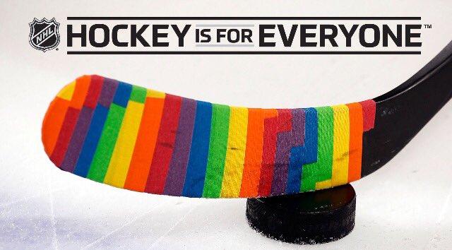 Hockey meets PrideMonth