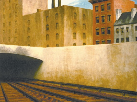 Edward Hopper: <i>Approaching a City</i>, 1946