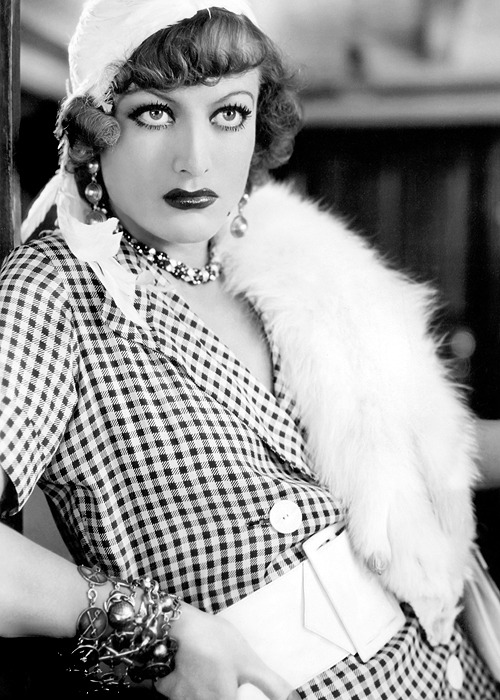 """Joan Crawford in the movie version of Somerset Maugham's """"Rain"""", 1932"""