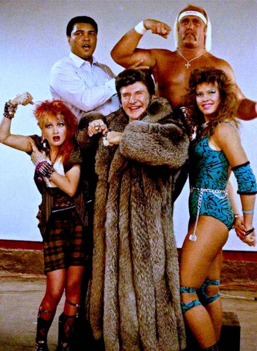 Liberace and other stars from the1980s