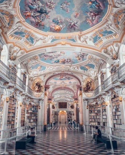 Library, Austria