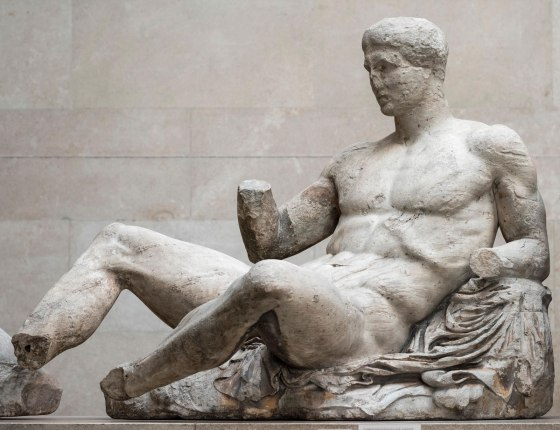 marble-statue-Heracles