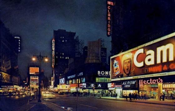 NYC TIMES SQ 1950s