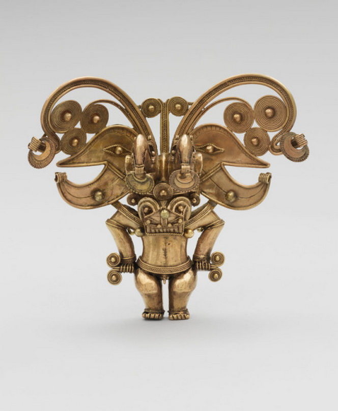 Ancient Colombian goldpendant