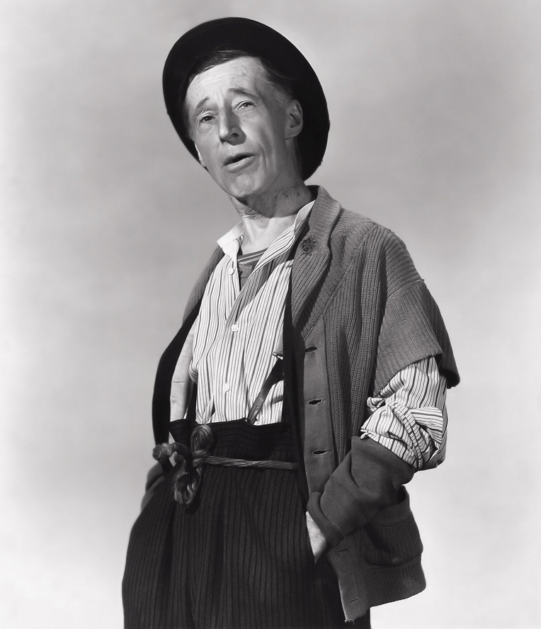"""Percy Kilbride as Pa Kettle in """"Ma And Pa Kettle Go To Town"""",1950"""