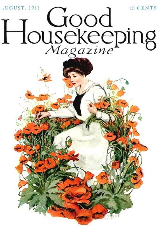 POPPIES GOOD HOUSEKEEPING 1911