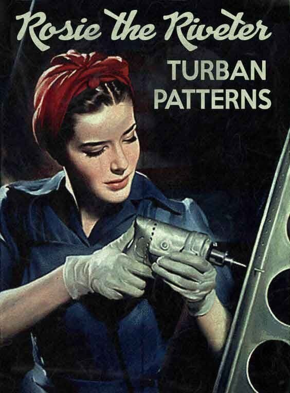 Rosie the Riveter turn patterns, WWII