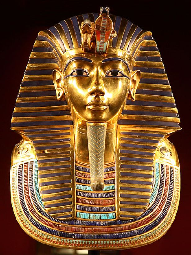 Golden Mask of Tutankhamun, AncientEgypt